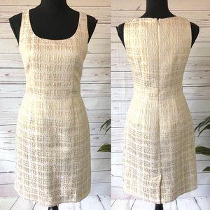 NEW • Banana Republic Houndstooth Sheath Dress